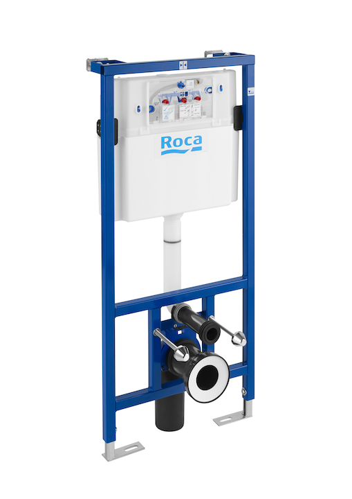 ROCA Duplo WC installation system for wall-hung toilets